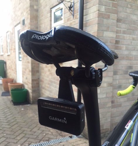 Garmin Varia Rear Saddle Rail Mount